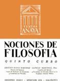 Gustavo Bueno & Leoncio Martínez, Nociones de Filosofía, Anaya, Salamanca 1955