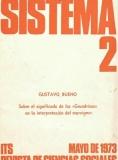 Gustavo Bueno, Sobre el significado de los Grundrisse en la interpretación del marxismo, Sistema 1973