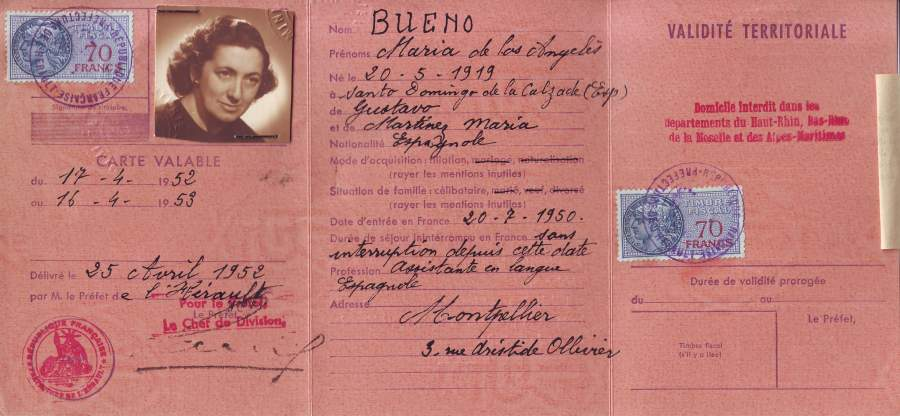 documento Marita Bueno