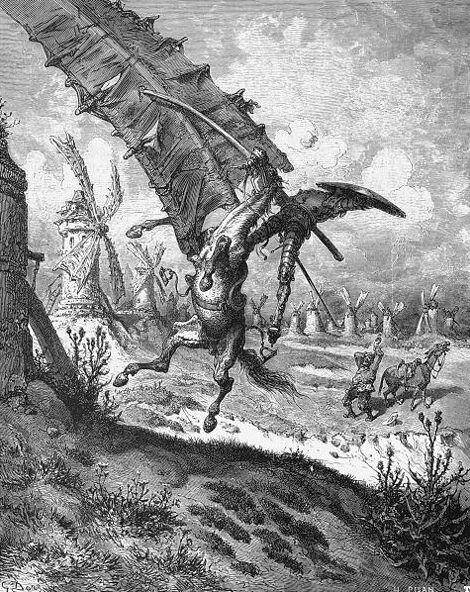 Gustave Dor�, Don Quixote