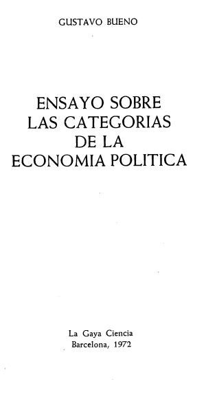 ensayo sobre la politica: